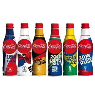 Coca Cola Limited Edition FIFA World Cup Set of 6