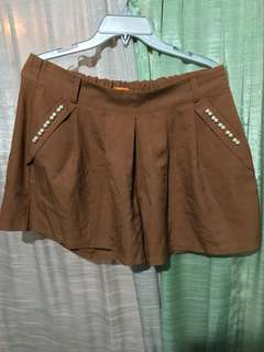 FAB brown shorts