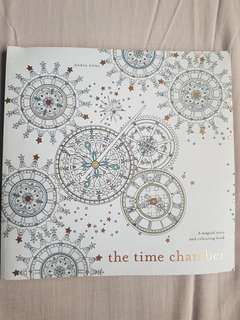 The Time Chamber Colouring Book