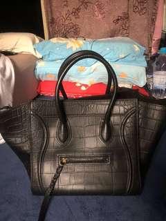Celine Square Luggage