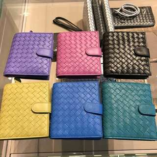 🇺🇸READY STOCK Bottega Veneta intrecciato nappa mini wallet