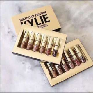 Kylie Jenner Birthday Edition Lipstick Set