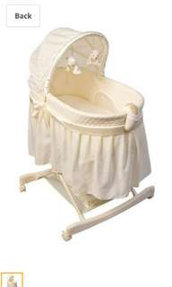 Kolcraft rocking bassinet