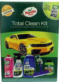 Turtle Wax Total Clean Kit