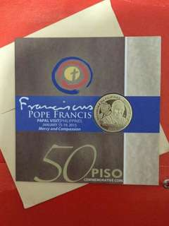 50-Piso Papal Coin