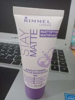 Rimmel Stay Matte Make up Primer