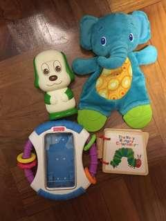 幼兒玩具4件