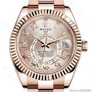 ROLEX 326935_SUNDUST SKY-DWELLER OYSTER 42MM EVEROSE GOLD