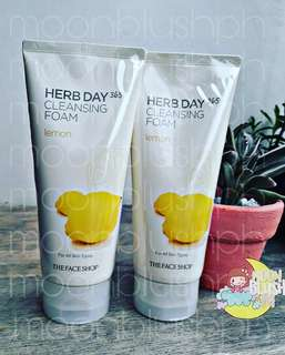 The Faceshop Herb Day 365 Cleansing Foam 170ml - Lemon