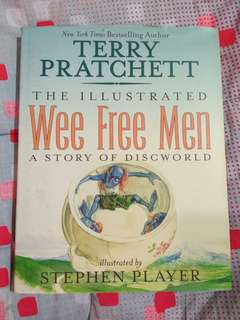The Illustrated Wee Free Men: A Story of Discworld - Terry Pratchett