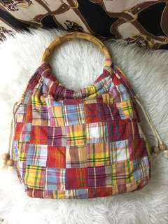 J.crew fabric vintage bag