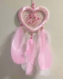 Customised Heart-Shaped Dreamcatcher