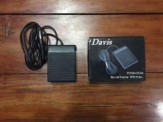 Davis DTB-004 Sustain Pedal