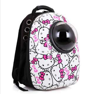 Hello Kitty Space Capsule Astronaut Pet Cat Backpack
