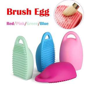 Ready Stock : Brush Egg Cleaner (Red | Green | Blue)