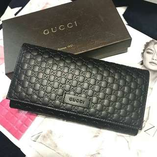 🇺🇸READY STOCK Gucci Signature Continental Wallet