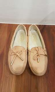 Authentic Tod's suede loafers