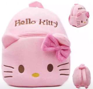 Ready Stock : Hello Kitty Plush Mini Backpack