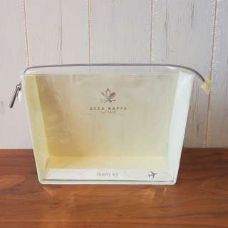Acca Kappa化妝袋travel kit bag makeup