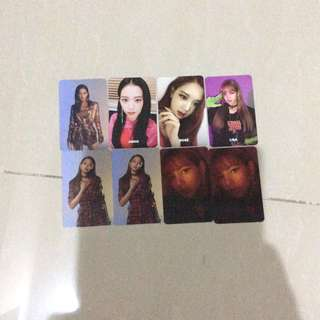 CLEARANCE BLACKPINK SQUARE UP PHOTOCARDS