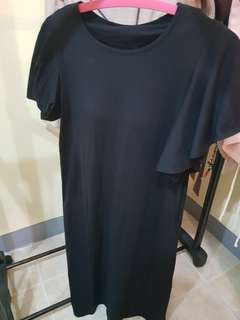 Uniqlo black dress (bra dress)