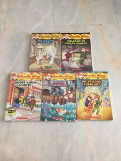 Geronimo Stilton Books