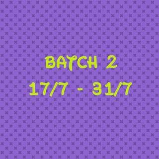 [BATCH 2] 17/7 - 31/7 SEVENTEEN BTS EXO MOSNTA X UNB BLACKPINK ALBUMS
