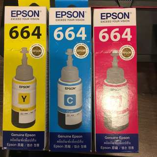 Epson Printer Ink set