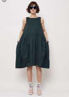 Gorman olive green dress