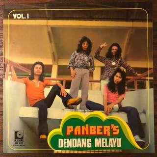 Panbers -Dendang Melayu (1975) Malay Indonesia Psych Pop Rock LP Record Vinyl
