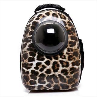 Cheetah Space Capsule Astronaut Pet Cat Backpack