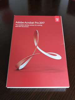 Adobe Acrobat Pro 2017 Windows Full pack.