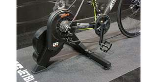 Jet black direct drive trainer