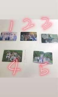🚚 BTS  防彈少年團 卡貼