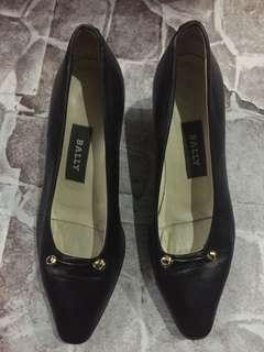 Black Bally Shoe