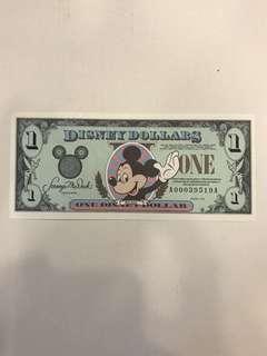 💵 Walt Disney Note