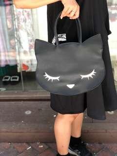 日本osumashi黑貓手環袋