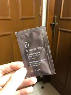 Dr. Dennis Gross Ferulic + Retinol Triple Correction Eye Serum (SAMPLE)