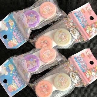 Japan My Melody / Little Twin Stars Case Contact  Lens