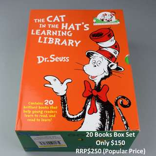 🚚 Cat in the Hat's Learning Library 20 Book Set (Includes Delivery)