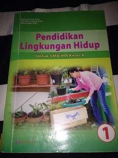 Buku cetak pendidikan lingkungan hidup kelas 10 kurtilas - arya duta