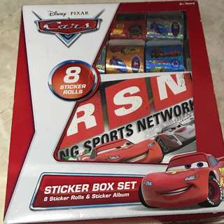 Lightning McQueen Sticker Box Set (with sticker book)