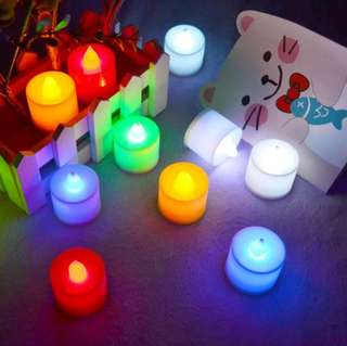 Lilin led cantik - lampu hias - lilin elektrik - electric candle