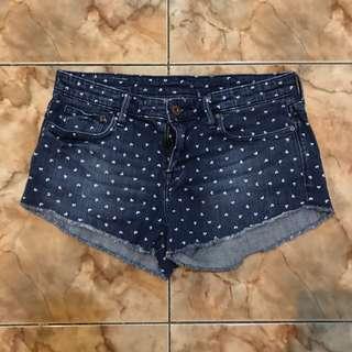 Celana pendek denim h&m