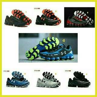 Sepatu pria under armour running original ori import terbaru 2018 murah branded trend size 44 45
