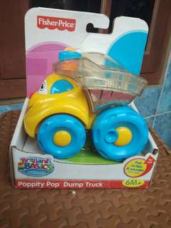 Fisher Price Brilliant Basic Poppity Pop Dump Truck