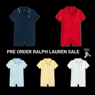 Ralph Lauren Baby Romper (LAST CALL)
