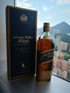 15-60年酒 oldest johnnie walker (blue label 前前身)