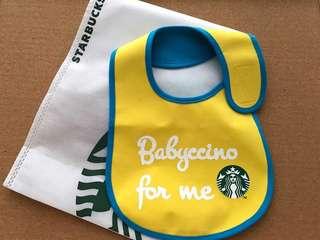 Starbucks Baby Bib (Yellow)