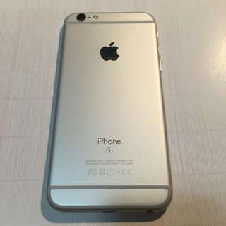 iPhone 6s 128gb silver good condition all function working